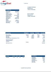 Salarissoftware specificatie